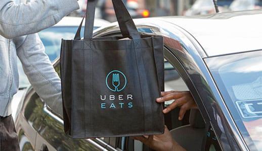 Uber Eats Food Delivery Driver Courier Sign Up Bonus